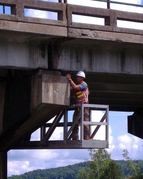 Relevé de ponts et structures