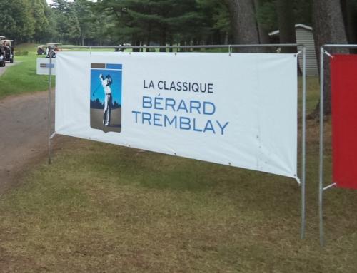La Montérégie accueille l'élite golfique professionnelle au canada pour la classique BÉRARD TREMBLAY 2017