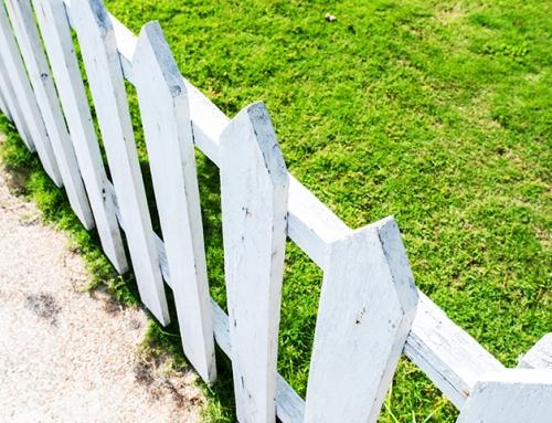 Êtes-vous en train de «donner» une partie de votre terrain à votre voisin?
