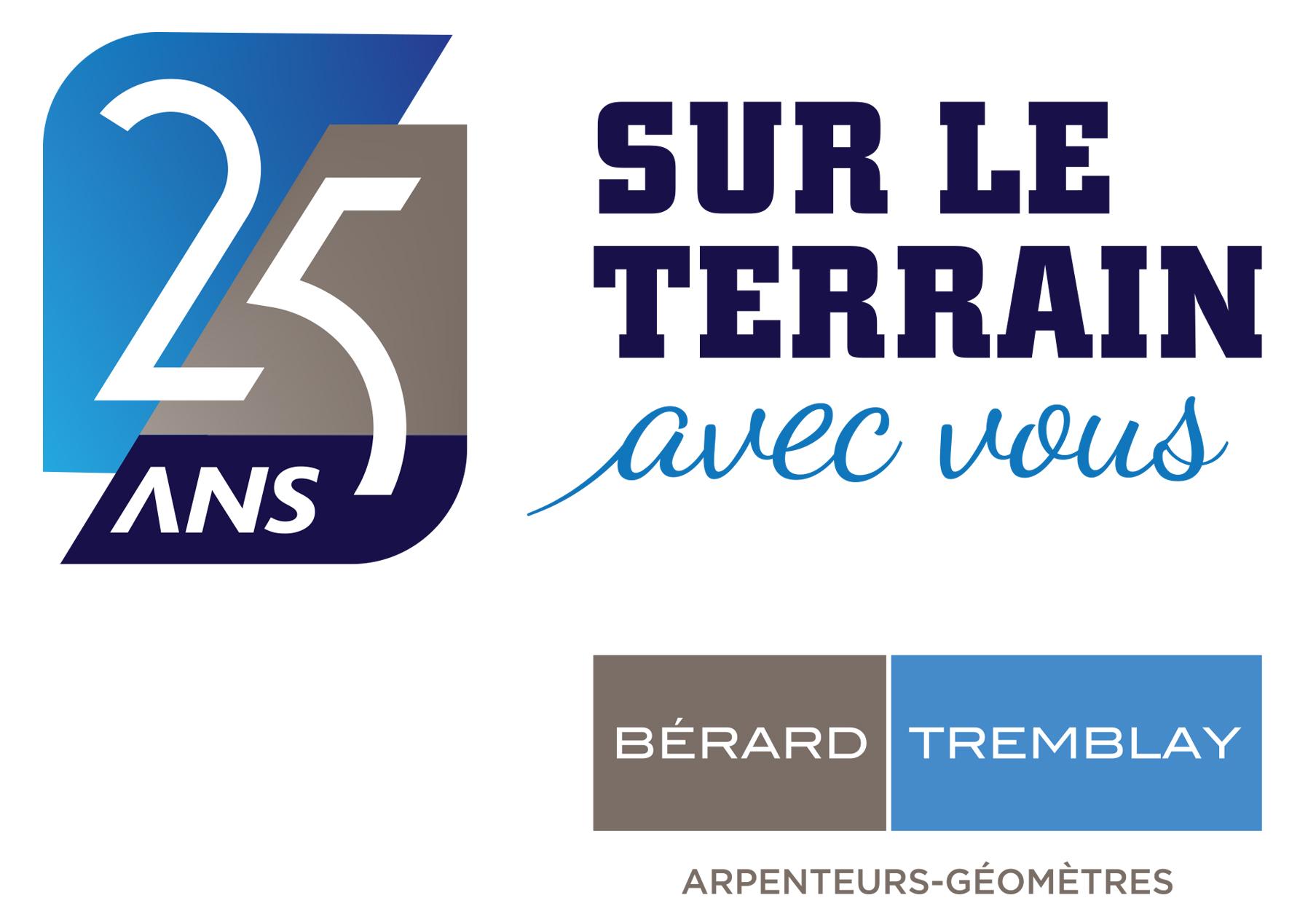 25e anniversaire de la création de Bérard Tremblay